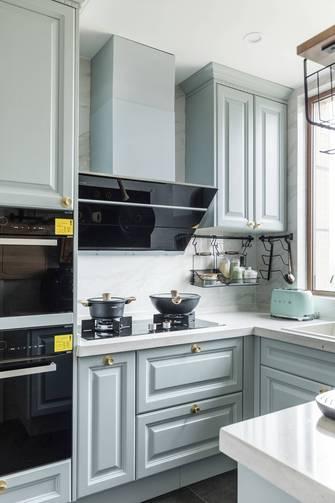 富裕型120平米四室两厅美式风格厨房图