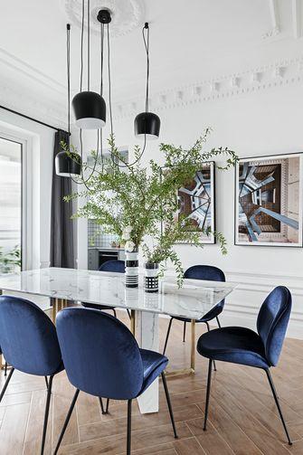 100平米法式风格餐厅欣赏图