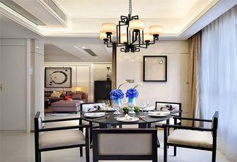 富裕型140平米三室一厅中式风格餐厅装修图片大全