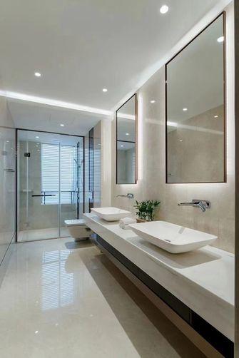 富裕型110平米三室一厅现代简约风格卫生间装修效果图