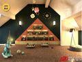 豪华型140平米别墅混搭风格阁楼图