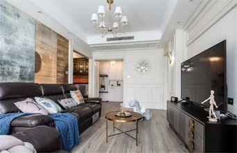 120平米三美式风格客厅设计图