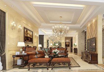 20万以上140平米复式北欧风格客厅欣赏图