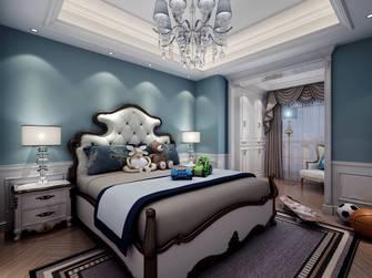 20万以上140平米复式新古典风格卧室图片大全