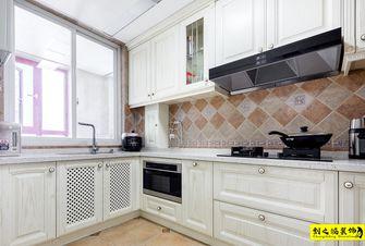 10-15万120平米三室一厅美式风格厨房效果图