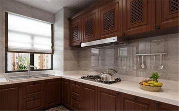 10-15万90平米中式风格厨房装修效果图