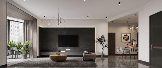 120平米四现代简约风格客厅装修案例
