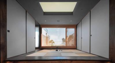 5-10万140平米四室两厅日式风格走廊装修图片大全