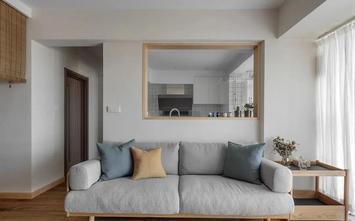3-5万60平米日式风格客厅装修效果图