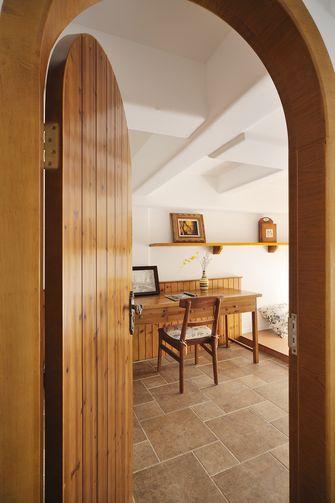 140平米别墅地中海风格书房装修图片大全