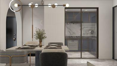 豪华型140平米四室一厅混搭风格餐厅设计图