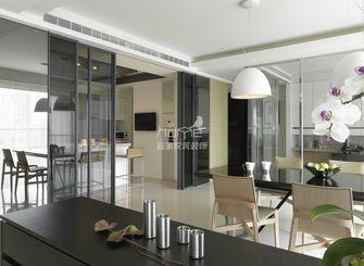 90平米三室两厅现代简约风格餐厅装修案例