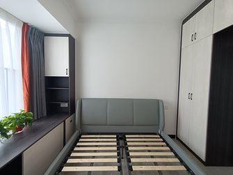 富裕型90平米三室两厅现代简约风格卧室装修图片大全