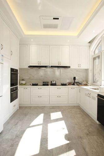 豪华型140平米别墅欧式风格厨房装修图片大全