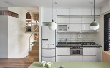 富裕型60平米复式英伦风格厨房图