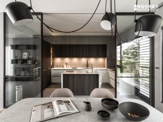 豪华型140平米别墅现代简约风格厨房装修图片大全