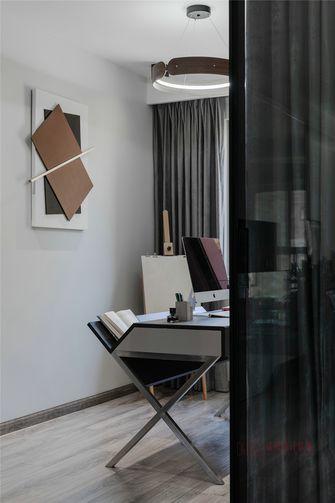 经济型90平米北欧风格书房设计图