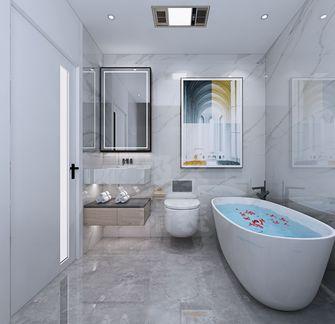 140平米别墅日式风格卫生间欣赏图