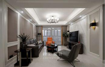 140平米四室两厅轻奢风格客厅图