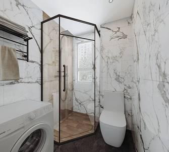 120平米三室两厅现代简约风格卫生间欣赏图