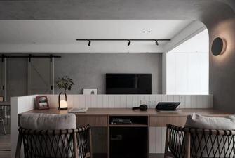 5-10万120平米三室一厅混搭风格书房效果图