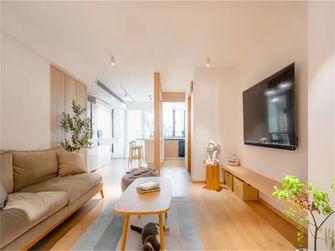 120平米复式日式风格客厅欣赏图