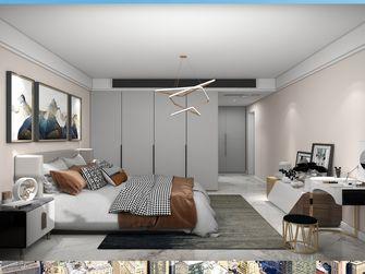 富裕型120平米三现代简约风格卧室效果图