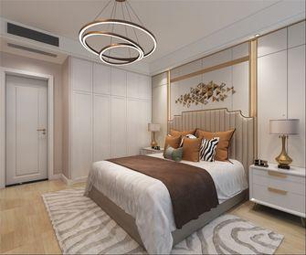 100平米三室两厅轻奢风格卧室设计图