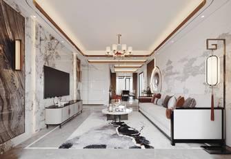 110平米四中式风格客厅装修图片大全