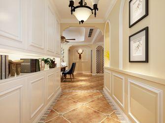 富裕型140平米三室两厅美式风格玄关装修图片大全