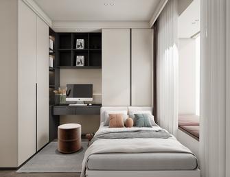 豪华型140平米三室一厅现代简约风格卧室装修图片大全