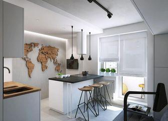 经济型60平米一居室北欧风格厨房设计图