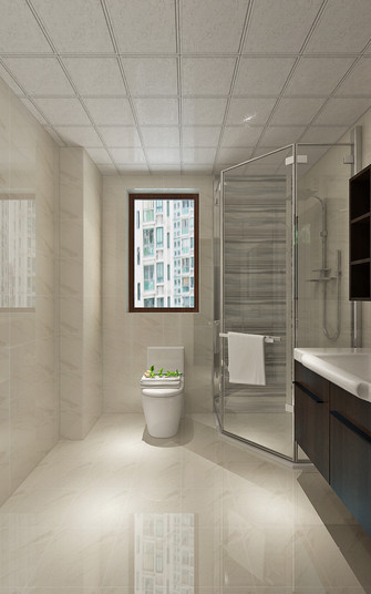 140平米四室三厅欧式风格卫生间装修案例