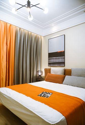 120平米三室一厅轻奢风格卧室设计图