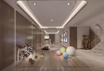 140平米别墅港式风格健身房装修效果图