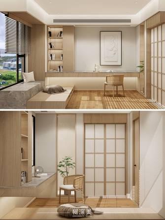 豪华型140平米四现代简约风格书房图