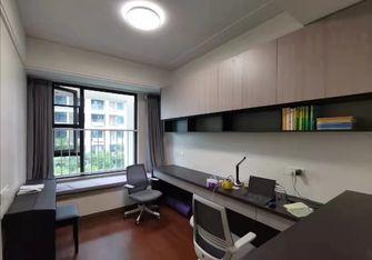 120平米三室两厅中式风格书房装修图片大全