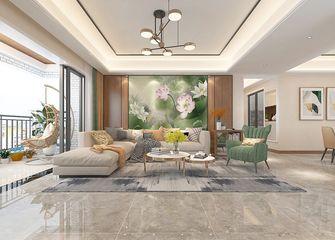 130平米三中式风格客厅装修效果图
