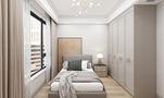 10-15万110平米三室两厅美式风格卧室图片