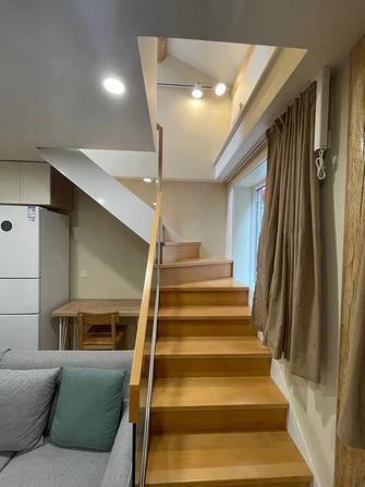 40平米小户型日式风格楼梯间图