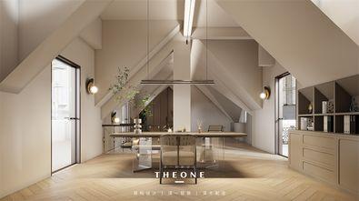 豪华型140平米三室两厅轻奢风格书房图片大全