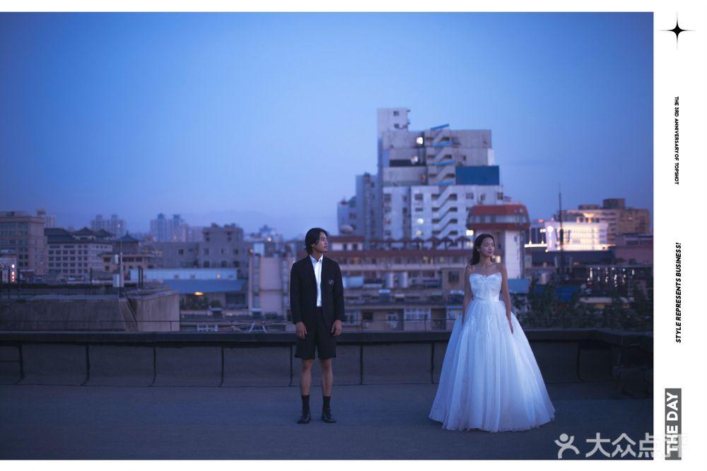光物誌婚纱摄影的图片