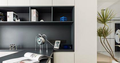 70平米现代简约风格书房图片