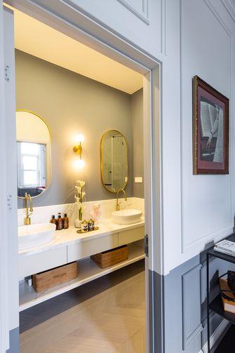 80平米三室一厅法式风格卫生间设计图