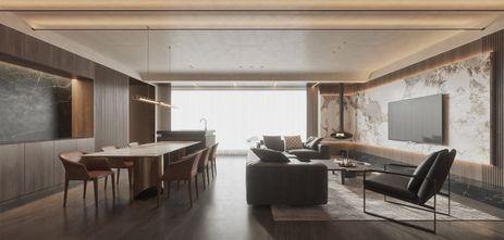 公寓轻奢风格客厅装修图片大全