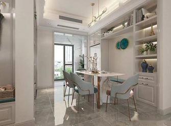130平米三室一厅混搭风格餐厅装修效果图