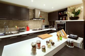 豪华型120平米欧式风格厨房设计图