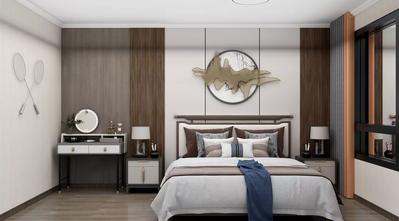 20万以上140平米四室一厅中式风格卧室设计图