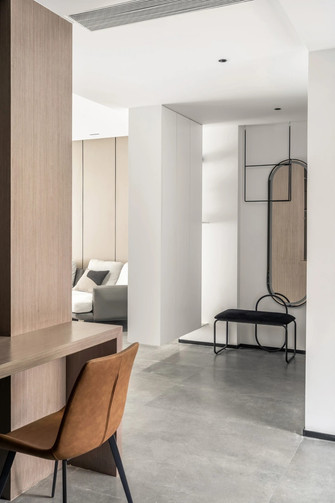 10-15万130平米四室两厅现代简约风格玄关设计图