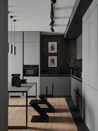 5-10万60平米公寓现代简约风格厨房装修案例